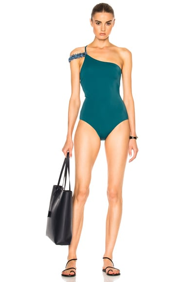 Seville Swimsuit with Removable Trim