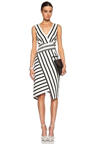 Jessica Blanket Stripe Dress