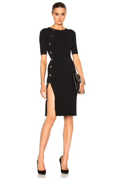 Altuzarra Kimiko Sweater Dress in Black