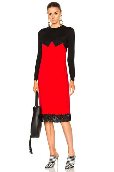 Altuzarra Debbie Dress in Scarlet