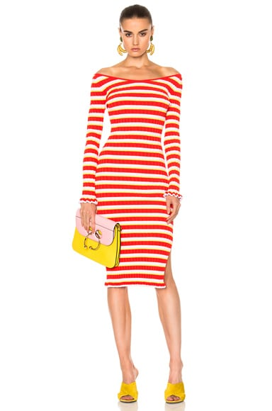 Altuzarra Socorro Dress in Fiesta Red