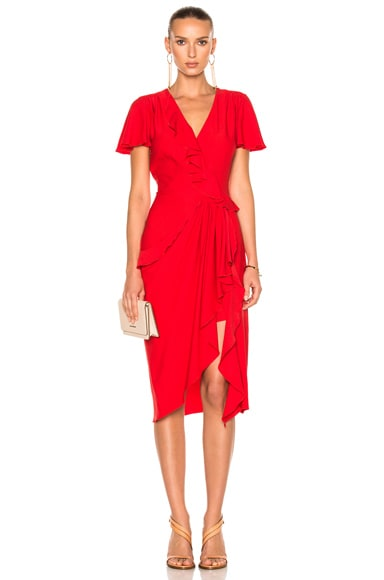 Altuzarra Mesilla Dress in Fiesta Red