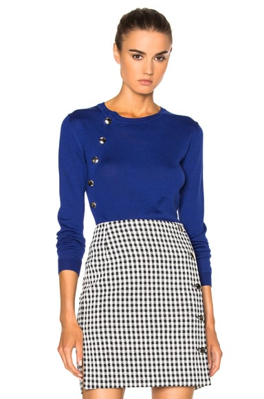 Altuzarra Minamoto Sweater in Royal Blue