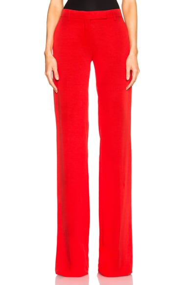 Altuzarra Tom Pants in Poppy Red