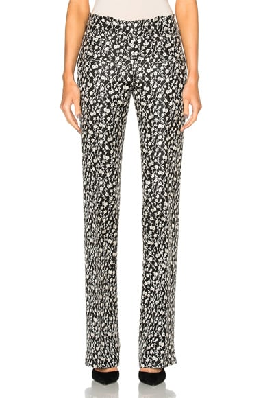 Altuzarra Serge Pants in Black & Natural White
