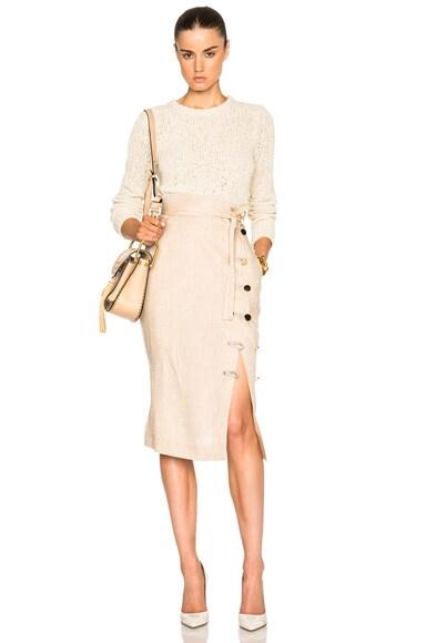 Hiroki Lightweight Linen Skirt