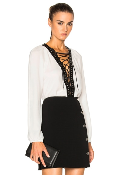 Altuzarra Yuba Top in Natural White