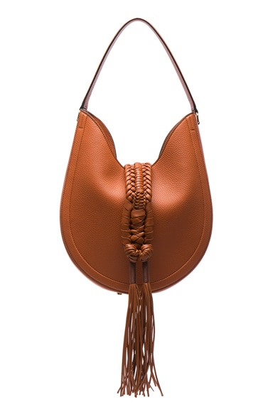 Altuzarra Ghianda Hobo Knot Small Bag in Caramel