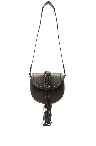 Altuzarra Ghianda Saddle Knot Bag in Cactus