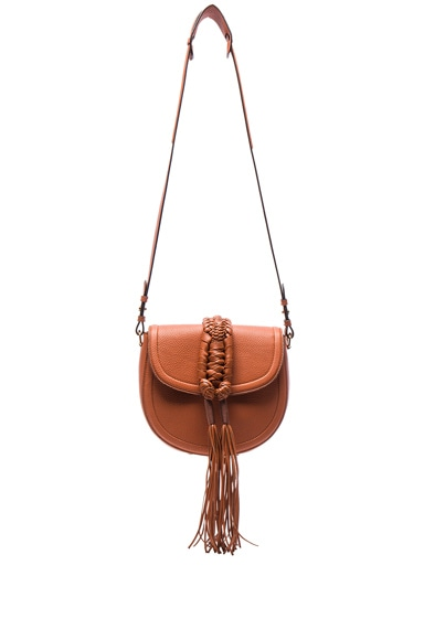 Altuzarra Ghianda Saddle Knot Bag in Caramel