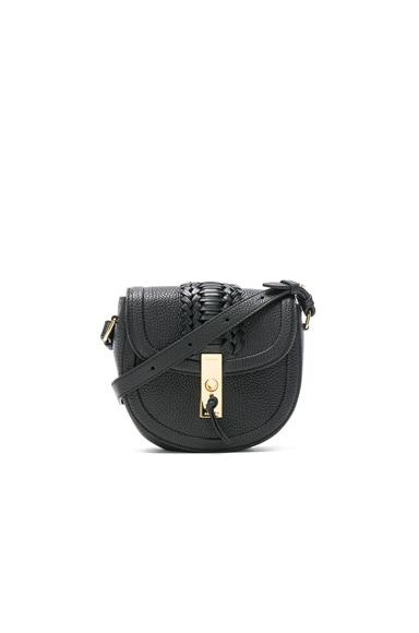 Ghianda Saddle Mini Embroidered Bag