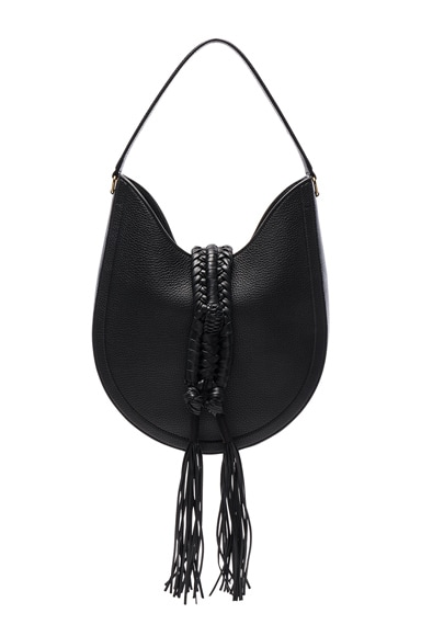 Altuzarra Ghianda Hobo Knot Small in Black