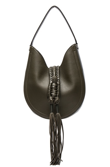Altuzarra Ghianda Hobo Knot Small Bag in Cactus
