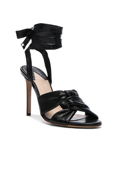 Leather Zuni Heels