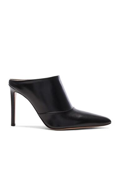 Altuzarra Leather Davidson Mules in Black