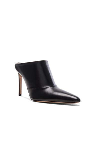 Leather Davidson Mules