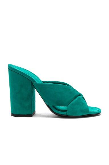 X Slide Block Heels