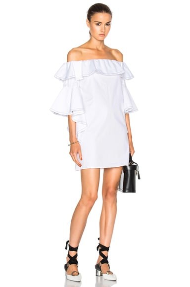 Alexis Rachel Dress in White