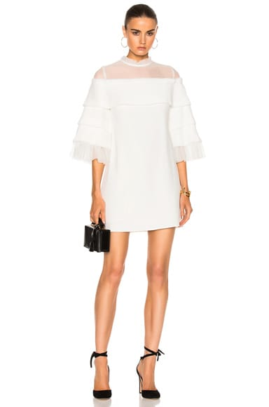 Alexis Pierre Dress in Off White
