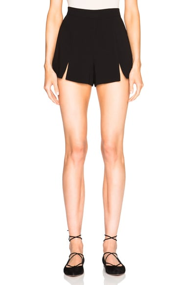 Alexis Hunt Shorts in Black