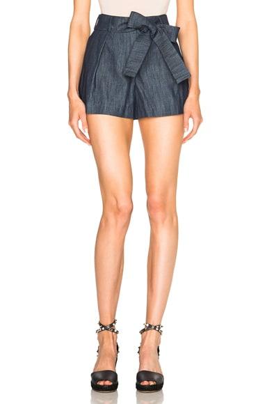 Alexis Mishka Shorts in Blue