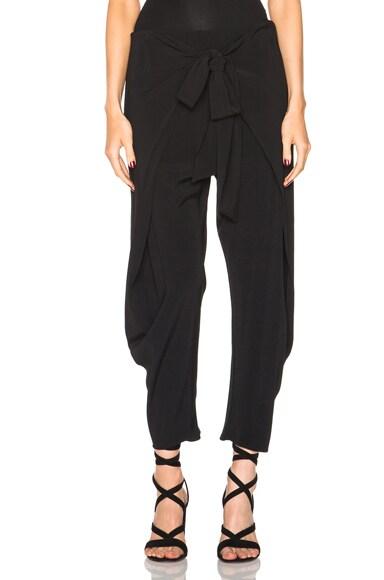 Alexis Nikos Crossover Pants in Black