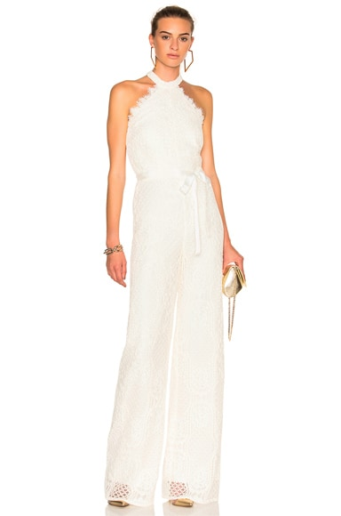 Alexis Maylina Jumpsuit in Ivory