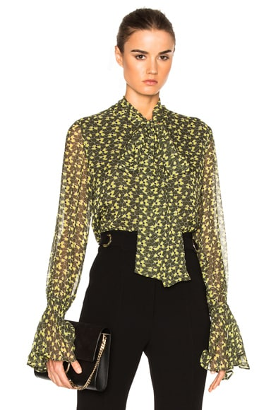 Alexis Romin Top in Olive Floral