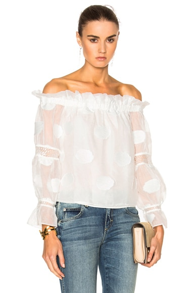 Alexis Ashton Top in White