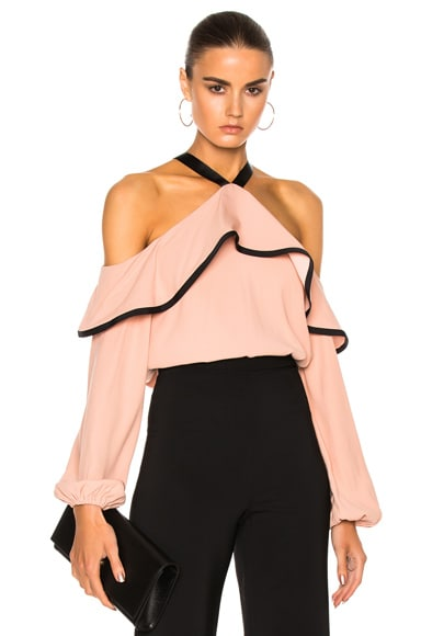 Alexis Malia Top in Dusty Rose