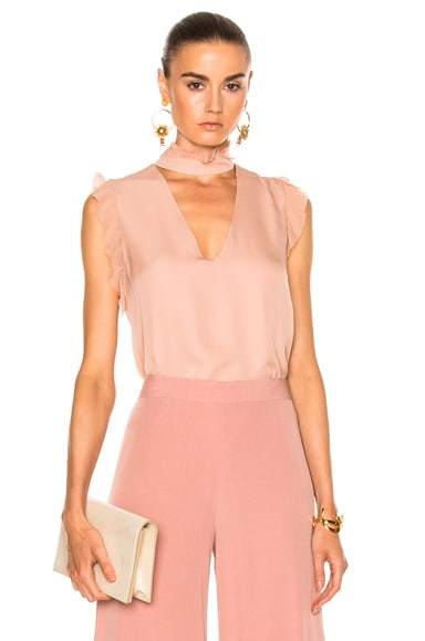 Alexis Lilibeth Top in Rose