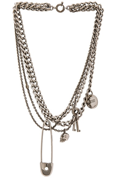 Alexander McQueen Necklace in Silver
