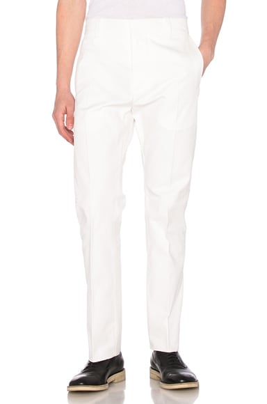 Alexander McQueen Trousers in White