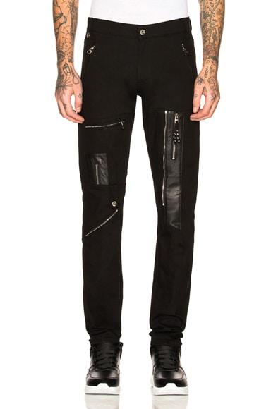 Moto Zip Jeans