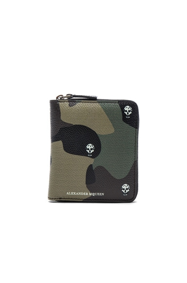 Alexander McQueen Zip Wallet in Multi