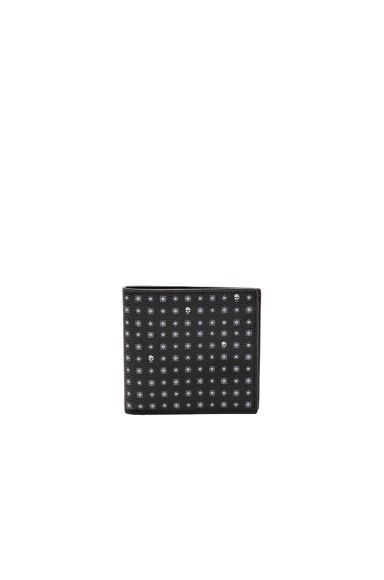 Alexander McQueen Billfold Wallet in Black & White