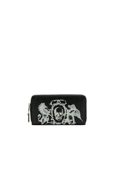 Coat of Arms Continental Zip Wallet
