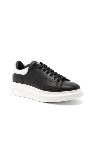 Alexander McQueen Platform Sneakers in Black & White