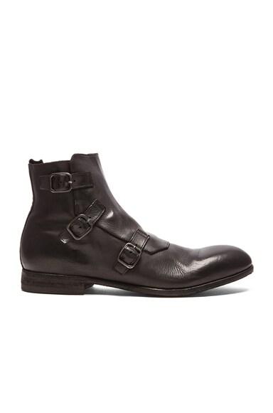 Triple Buckle Boot