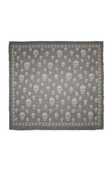 Printed Skull Scarf