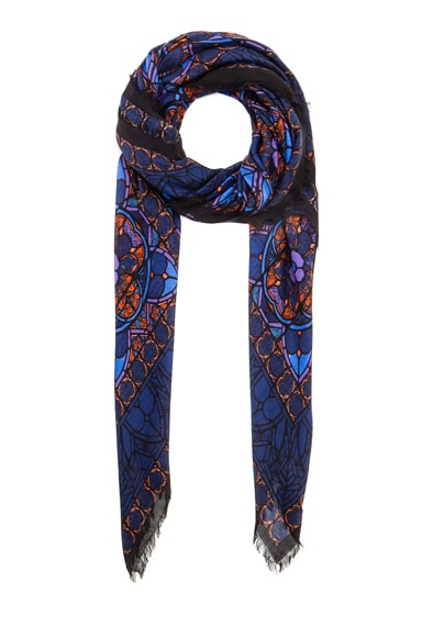 Stained Glass Modal & Silk Scarf