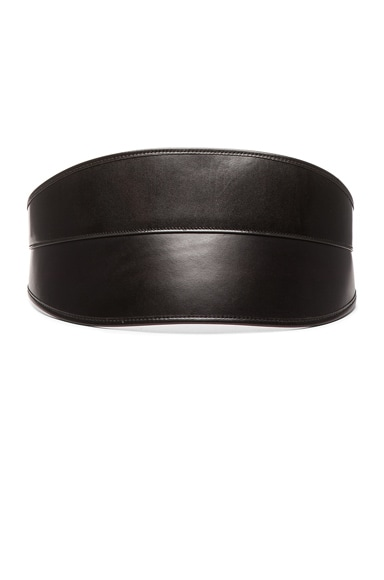 Alexander McQueen Bridle Waist Belt in Black