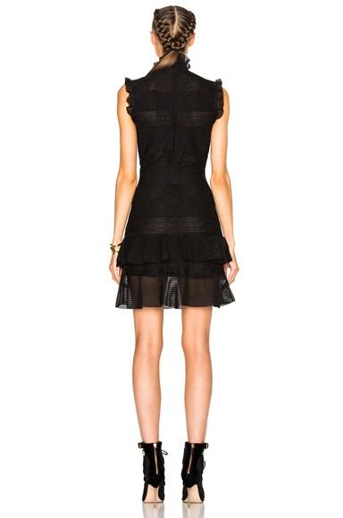 Sleeveless Bandage Mini Dress