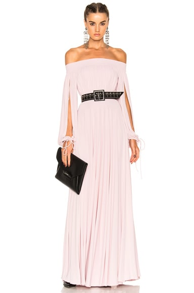 Alexander McQueen Sleeveless Maxi Dress in Clover