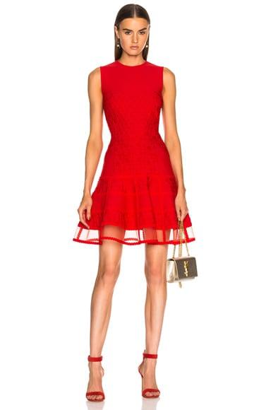 Knit Sleeveless Mini Dress