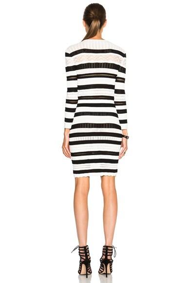 Stripe Mini Pencil Dress