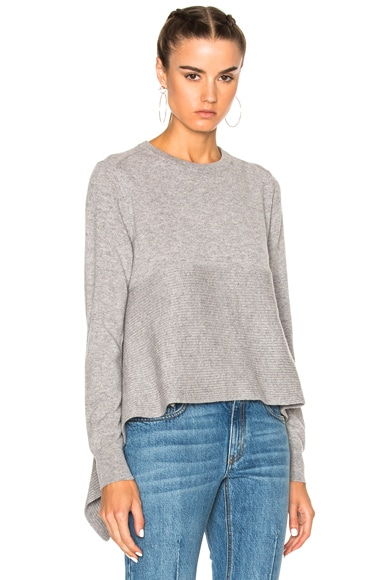 Alexander McQueen Crewneck Sweater in Grey