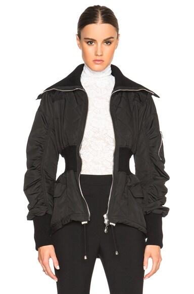 Alexander McQueen Light Nylon Jacket in Black