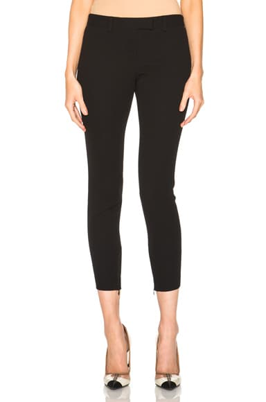 Alexander McQueen Bumster Trousers in Black