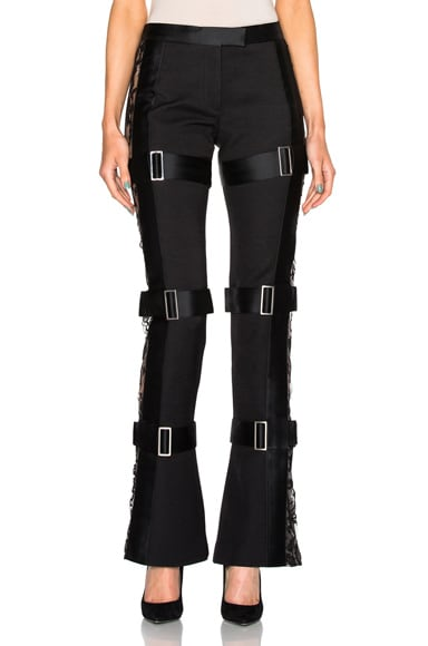 Alexander McQueen Trousers in Black